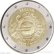 Euros: 2 EUROS CONMEMORATIVA MALTA 2012 TYE SC. Lote 149978078