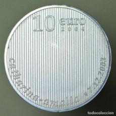 Euros: 10 EUROS PLATA HOLANDA 2004. Lote 150367026