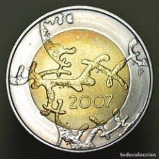 Euros: 5 EUROS FINLANDIA 2007. Lote 150376966