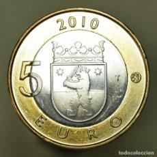 Euros: 5 EUROS FINLANDIA 2010 SAKATUNKA. Lote 150545518