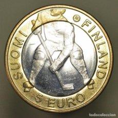 Euros: 5 EUROS FINLANDIA 2012 HOCKEY SOBRE HIELO. Lote 150545606