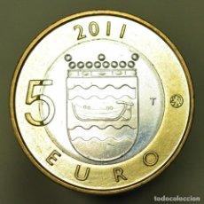 Euros: 5 EUROS FINLANDIA 2011 UUSIMA. Lote 150546602