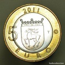 Euros: 5 EUROS FINLANDIA 2011 ALAND. Lote 150546778