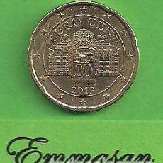 Euros: MONEDA - AUSTRIA - 20 CÉNTIMOS DE EURO - CASTILLO BELVEDERE - 2013 - BC.. Lote 151862850