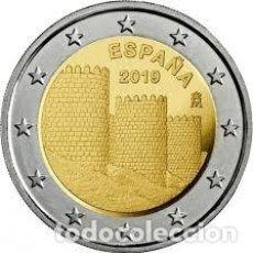 Euros: ESPAÑA: 2 € 2019 MURALLA DE ÁVILA S/C DE CARTUCHO. Lote 152595102