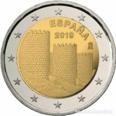 Euros: ESPAÑA 2019 2€ MURALLAS DE AVILA. Lote 152522792