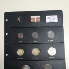 Euros: COLECCION COMPLETA EUROS EN PRUEBA LABASTIDA - ALAVA -. Lote 153708378