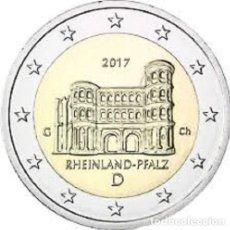 Euros: ALEMANIA - 2 EURO 2017 - SC - RHEINLANDPFALZ - CECA G - SERIE PROVINCIAS - DE CARTUCHO. Lote 173087593