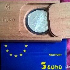 Euros: 5 EURO DE PLATA DE 1997. NIEUPORT. EN ESTUCHE. Lote 154795034