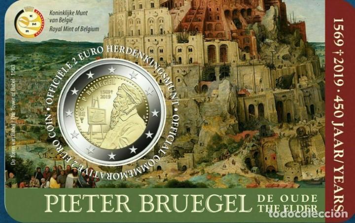 BELGICA 2019 PIETER BRUEGEL (Numismática - España Modernas y Contemporáneas - Ecus y Euros)