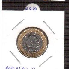 Euros: 2 EURO MONACO 2016 S/C LOS QUE VES UNA MONEDA. Lote 156993978