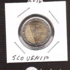 Euros: 2 EURO SLOVENIA 2016 S/C LOS QUE VES UNA MONEDA . Lote 156994650