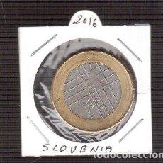 Euros: 3 EURO SLOVENIA 2016 S/C LOS QUE VES UNA MONEDA . Lote 156995482