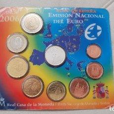 Euros: CARTERA SET OFICIAL MONEDAS 2006 FNMT MEDALLA QUINTO CENTENARIO CRISTOBAL COLON. Lote 157853082
