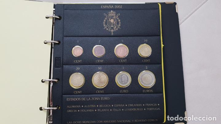 ESPAÑA 2002 LOTE DE MONEDAS DE EUROS DE 1 CÉNTIMO A 2 EUROS (Numismática - España Modernas y Contemporáneas - Ecus y Euros)