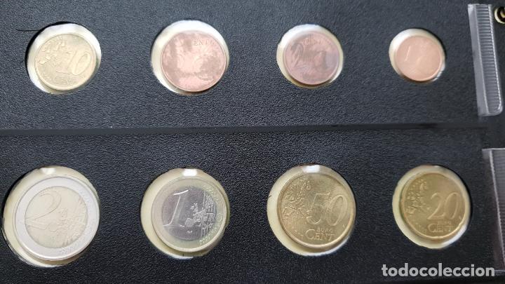 Euros: ESPAÑA 2002 LOTE DE MONEDAS DE EUROS DE 1 CÉNTIMO A 2 EUROS - Foto 2 - 157853682