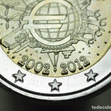 Euros: 2 EUROS ESPAÑA 2012 ESTRELLAS REPINTADAS - ERROR - VARIANTE - SIN CIRCULAR. Lote 158113682
