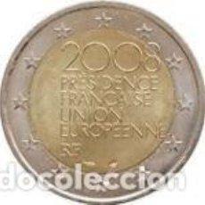 Euros: FRANCIA 2008. 2 EUROS.PRESIDENCIA FRANCESA DE LA UNIÓN EUROPEA. S/C. Lote 195337151