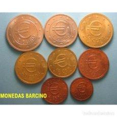 Euros: MONEDAS DE EUROS DE CHURRIANA MALAGA 1998 - PRUEBA DE EUROS ESPAÑA 8 MONEDAS ESPAÑOLAS. Lote 159495348