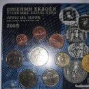 Euros: BLISTER EUROS GRECIA 2005 BUENA CONSEVACION NO IMPLECABLE. Lote 159583826