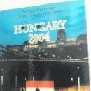 Euros: BLISTER EUROS HUNGRIA 2004 PORTADA ALGO DAÑADA VER FOTOS. Lote 159585770