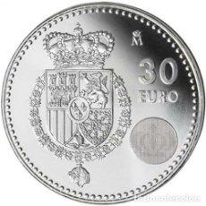 Euros: ESPAÑA 2014. MONEDA DE PLATA DE 30 EUROS CONMEMORATIVA DE LA SUBIDA AL TRONO DE FELIPE VI. Lote 187471065