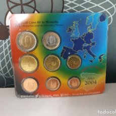 Euros: CARTERA ESTUCHE EUROS 2004. Lote 160540662