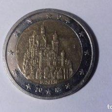 Euros: MONEDA DE 2 EUROS DE ALEMANIA DEL AÑO 2012. Lote 160577282