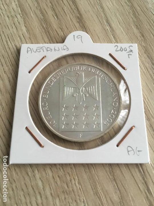 10 EUROS DE PLATA ALEMANIA 2005-F (Numismática - España Modernas y Contemporáneas - Ecus y Euros)