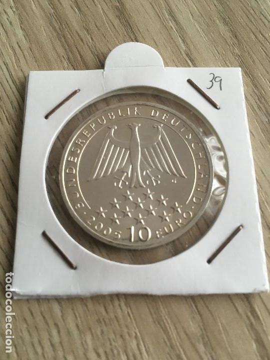 10 EUROS DE PLATA ALEMANIA 2005-G (Numismática - España Modernas y Contemporáneas - Ecus y Euros)