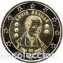 Euros: BÉLGICA 2009. 2 EUROS. BICENTENARIO DEL NACIMIENTO DE LOUIS BRAILLE. S/C. Lote 160683086