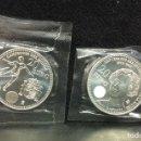 Euros: LOTE 2 MONEDAS DE 20 EUROS 2010-2011, EN SU FUNDA ORIGINAL S/C. Lote 160691986