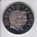 Euros: MONEDA DE PRUEBA DE BELGICA 10 EUROS DE ALBERT II - PAOLA (NUEVA EN CAPSULA). Lote 160720518