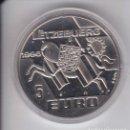 Euros: MONEDA DE PRUEBA DE LUXEMBURGO DE 5 EUROS DEL AÑO 1996 (NUEVA EN CAPSULA) . Lote 160723454