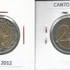 Euros: FRANCIA 2012 - 2 EURO CIRCULADA EBC. Lote 161019174