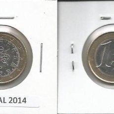 Euros: PORTUGAL 2014 - 1 EURO - CIRCULADA EBC. Lote 161024666