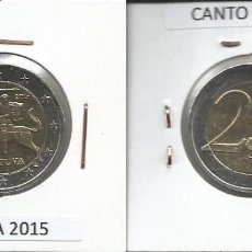 Euros: LITUANIA 2015 - 2 EURO - CIRCULADA EBC. Lote 161026346