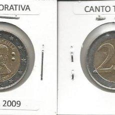 Euros: BELGICA 2009 CONMEMORATIVA - 2 EURO - CIRCULADA EBC. Lote 161072774