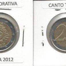 Euros: BELGICA 2012 CONMEMORATIVA - 2 EURO - CIRCULADA EBC. Lote 161073086