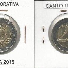 Euros: ESTONIA 2015 CONMEMORATIVA - 2 EURO SC. Lote 161075994