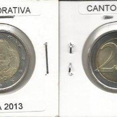 Euros: ITALIA 2013 CONMEMORATIVA - 2 EURO SC. Lote 161080538