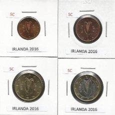 Euros: IRLANDA 2016 - LOTE 8 MONEDAS CIRCULANTES - SC. Lote 161082142