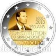Euros: LUXEMBURGO 2018. 2 EUROS. 150 ANIVERSARIO DE LA CONSTITUCIÓN DE LUXEMBURGO. S/C. Lote 231659665