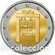 Euros: MALTA 2018. 2 EUROS. LOS NIÑOS Y LA SOLIDARIDAD - PATRIMONIO CULTURAL. S/C. Lote 195436083