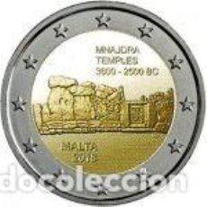 Euros: MALTA 2018. 2 EUROS.TEMPLOS DE MNAJDRA. S/C. Lote 195436352