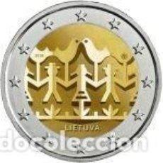 Euros: LITUANIA 2018. 2 EUROS. FESTIVAL DE LA CANCIÓN Y LA DANZA LITUANIA 2018. S/C. Lote 232613765