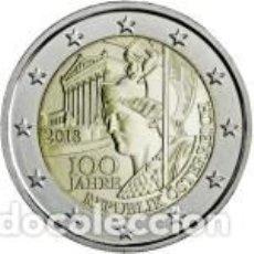 Euros: AUSTRIA 2018. 100 AÑOS DE LA REPÚBLICA DE AUSTRIA. S/C. Lote 180886491