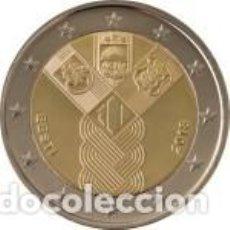 Euros: ESTONIA 2018. 2 EUROS. CENTENARIO DE LA FUNDACIÓN DE LOS ESTADOS BÁLTICOS INDEPENDIENTES. S/C. Lote 235539235