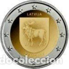Euros: LETONIA 2018. 2 EUROS. REGIÓN DE ZEMGALE. S/C. Lote 195436180