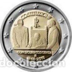 Euros: ITALIA 2018. 2 EUROS. 70º ANIVERSARIO DE LA CONSTITUCIÓN ITALIANA. S/C. Lote 195457306